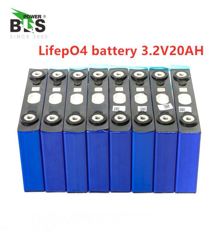 16 stücke lifepo4 3,2 v 20ah 200A hohe entladestrom 20ah 3,2 v lifepo4 batterie zelle für electrice bike motor batterie pack diy