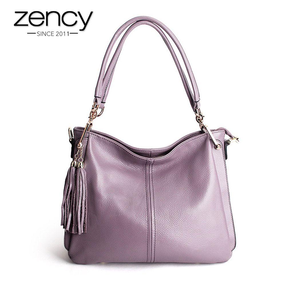 5 Color Famous Brand Designer Tassel Women Handbag Genuine Leather Shoulder Crossbody Bags Messenger Ladies Purse Satchel Retro