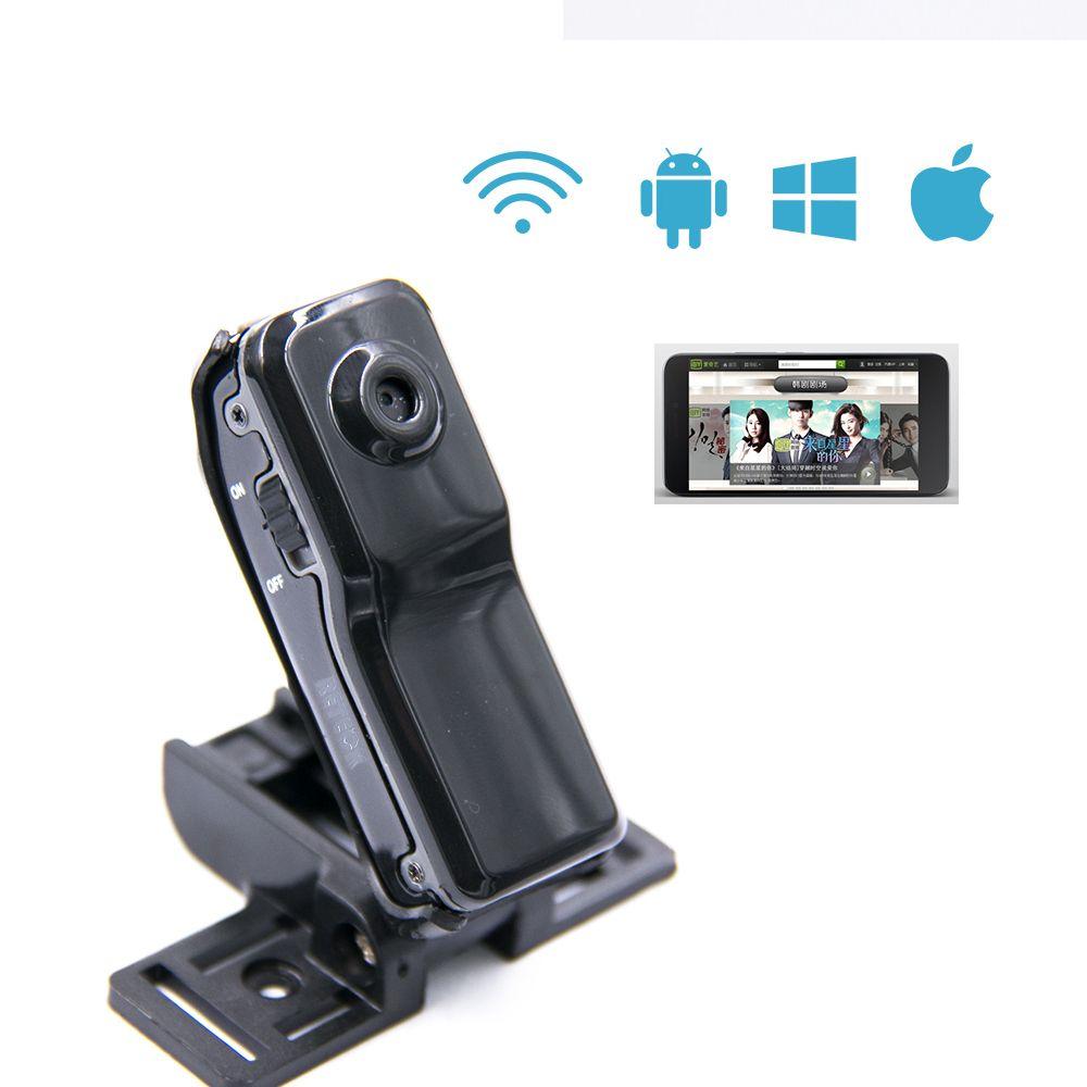 Neue Gadgets WiFi kamera MD81S Mini DV Wireless P2P Tech Web Kamera Video wifi hd taschenformat Fernbedienung per Telefon mini kamera