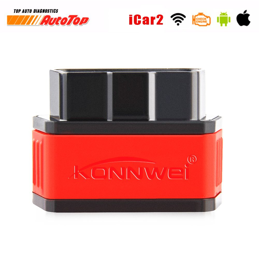 ELM327 OBD2 WIFI iCar2 Auto Diagnosis Scanner ODB2 Autoscanner ODB II EML 327 Wi-fi for Iphone ELM 327 Wifi Automotive Scanner