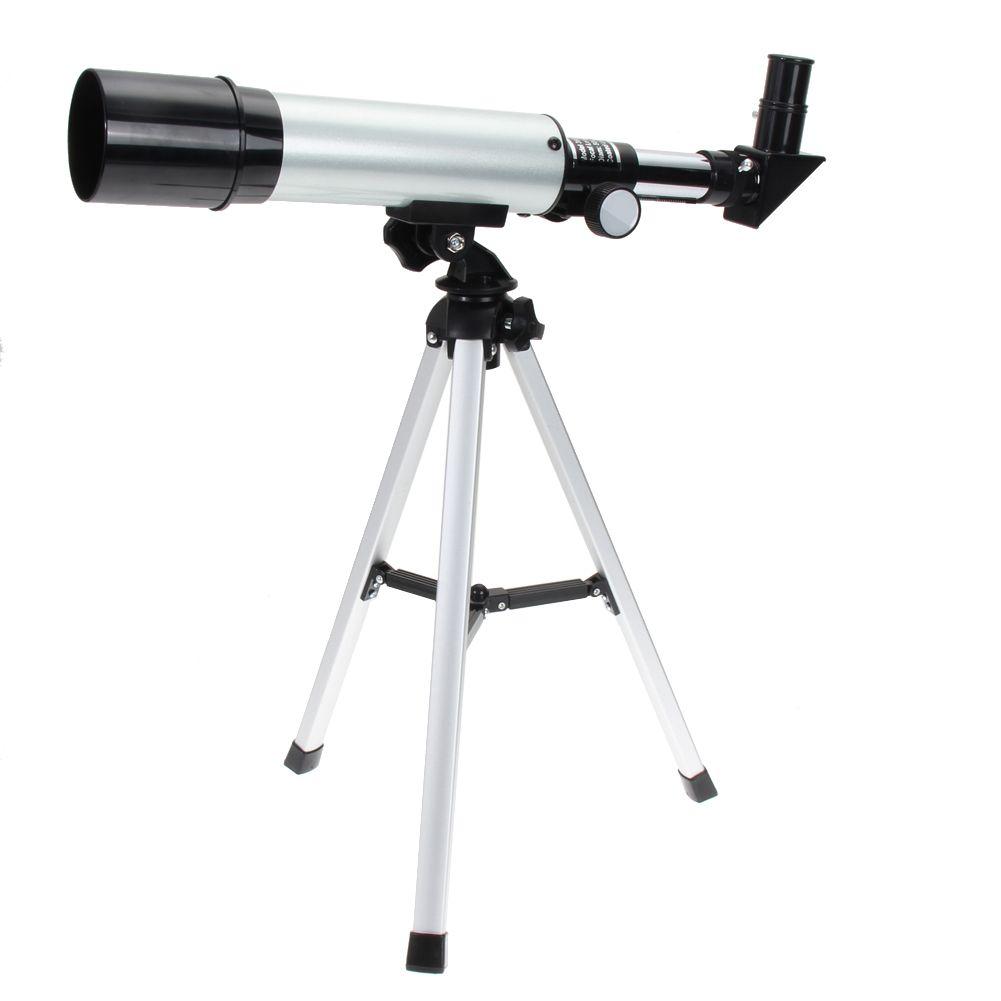 2017 monokulare Haltegriff Silber 360/50mm Refractive Outdoor Fernrohr Astronomische Fernrohr mit Beweglicher Stativ Spektiv