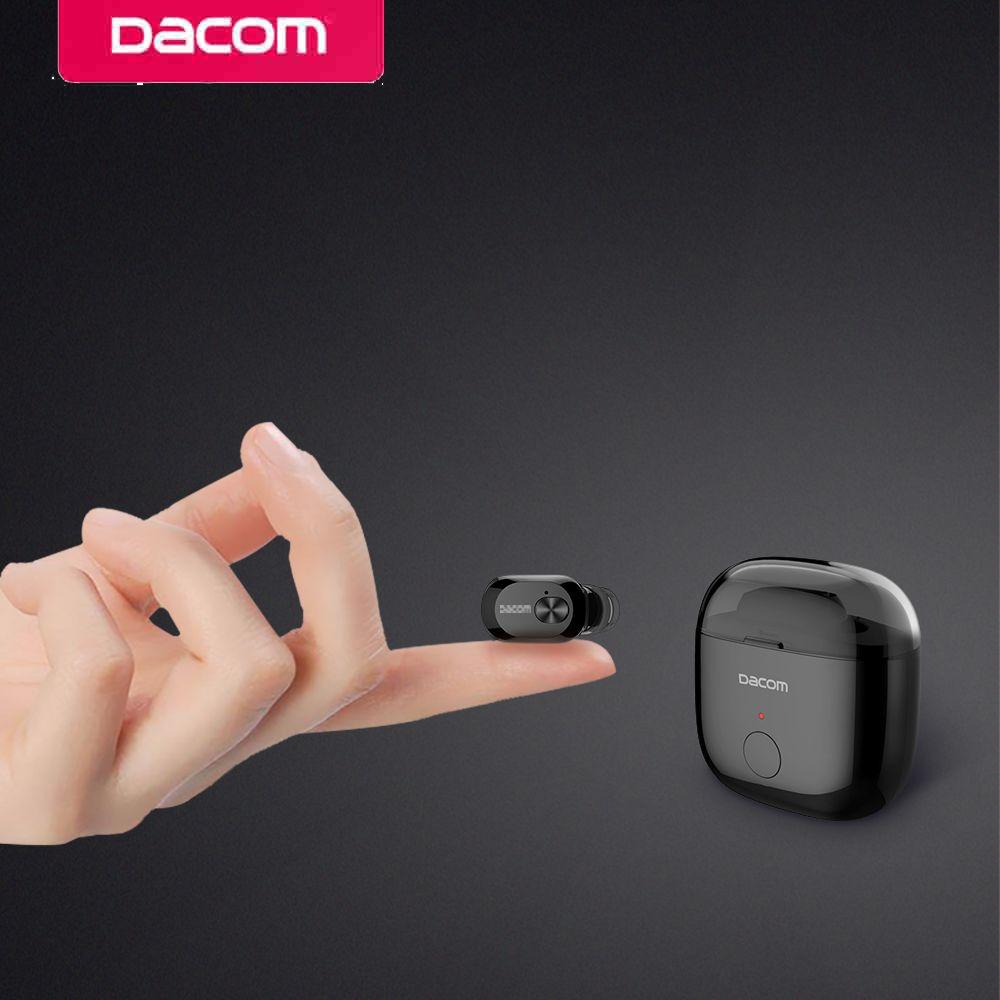 Dacom K6P earbuds earpiece micro headset mini wireless bluetooth earphones for iphone 4 5 6 7 8 smart consumer electronics