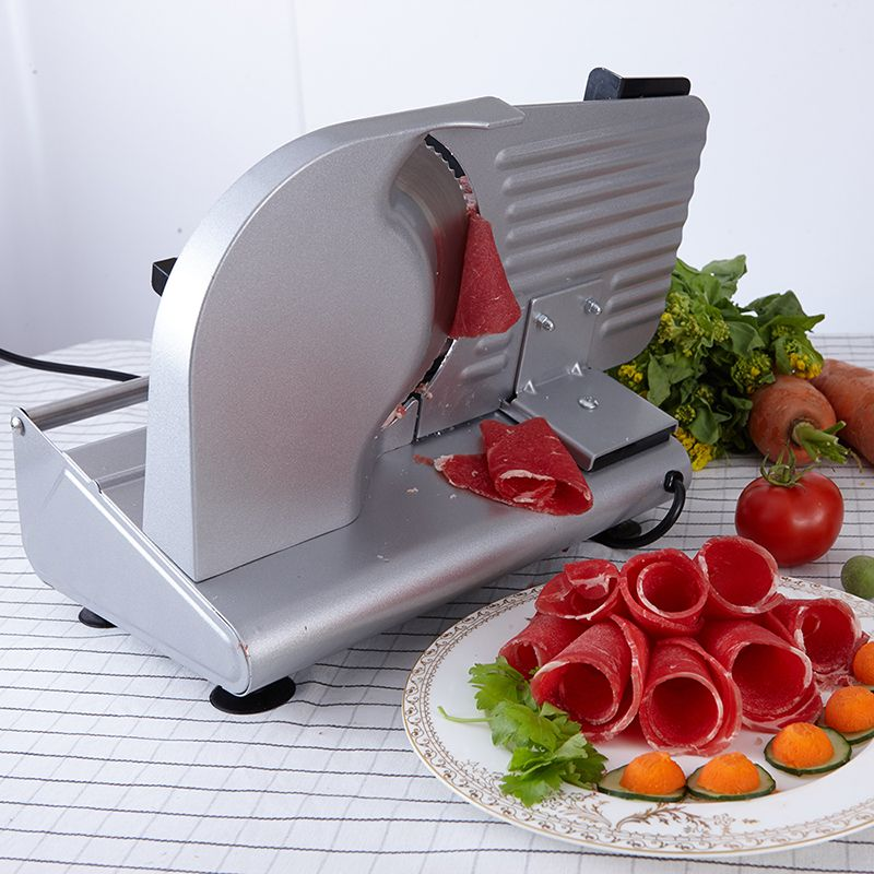 MS-305C stainless steel Electric slicer Sliced mutton slices Cut fruits and vegetables Cut slices of bread Meat cutting machine