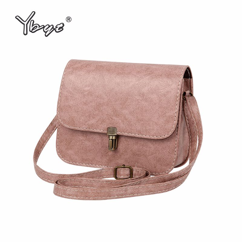 YBYT marque 2018 nouveau rabat en cuir PU mini sac à main hotsale dame sac à bandoulière femmes sacoche shopping sac à main messenger sacs à bandoulière