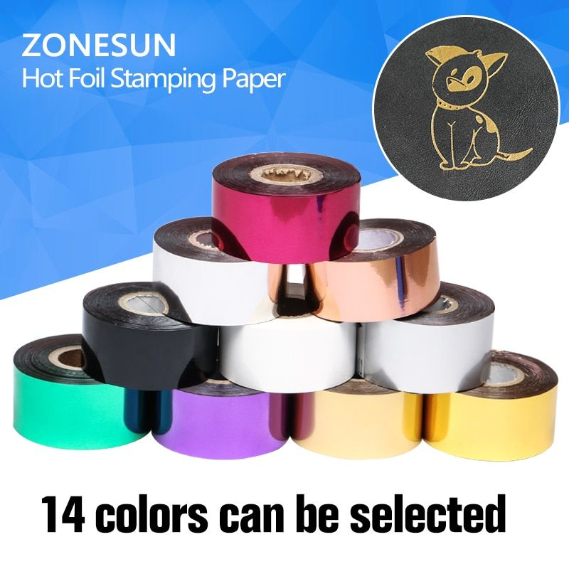 3cm Rolls(gold and slilver) Hot Foil Stamping Paper Heat Transfer Anodized Gilded Paper with Shipping Cost Fee