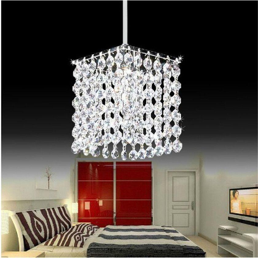Kronleuchter Kristall Led Anhänger Beleuchtung Lüster Abajur Pendelleuchte Leuchte Hanglamp Glanz Pendent für Wohnkultur Beleuchtung E14