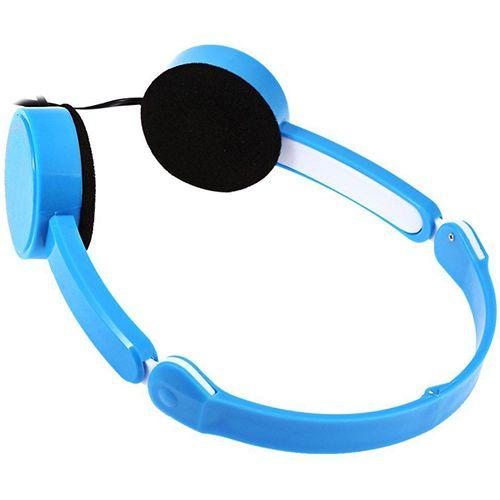 Retractable Faltbare Über ohr Kopfhörer Headset mit Mikrofon Stereo Bass für Kinder