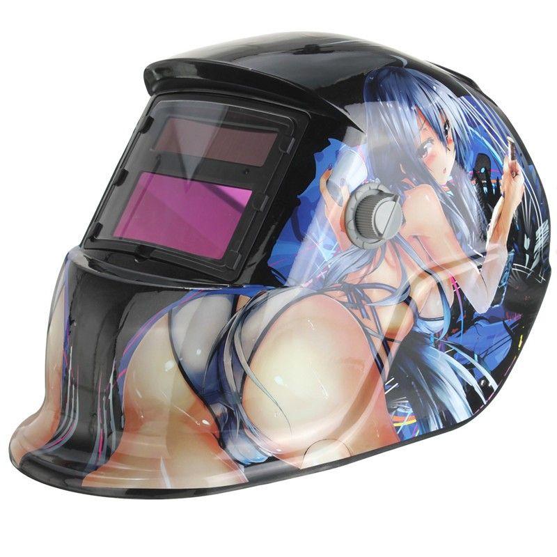 Solar Automatic Variable Light Electric Welding Mask TIG MIG MMA Helmet For Welder Welding Machine OR Plasma Cutter