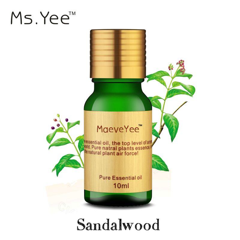 Pur Bois De Santal huile essentielle est célèbre Aphrodisiaque Anti Stress et Se Détendre L'esprit Bonne Odeur Inde Aromathérapie Huiles Méditation 10 Ml
