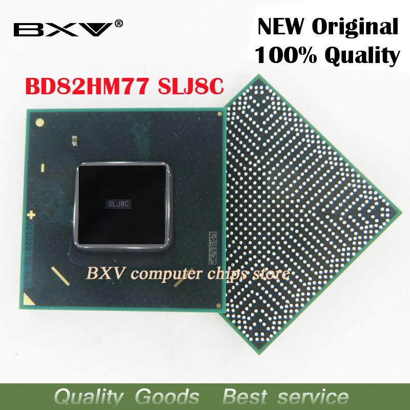 SLJ8C BD82HM77 SLJ8C 82HM77 100% nouveau chipset BGA original pour ordinateur portable livraison gratuite avec message de suivi complet