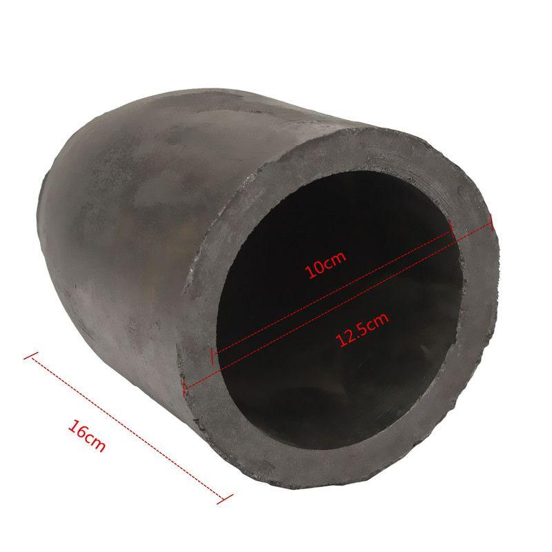 12,5x16 cm 5 kg Casting Ton Graphittiegel Raffination Schmelzen Kupfer Aluminium Messing Schüttdichte Mehr als 1,71g/cm3 ect