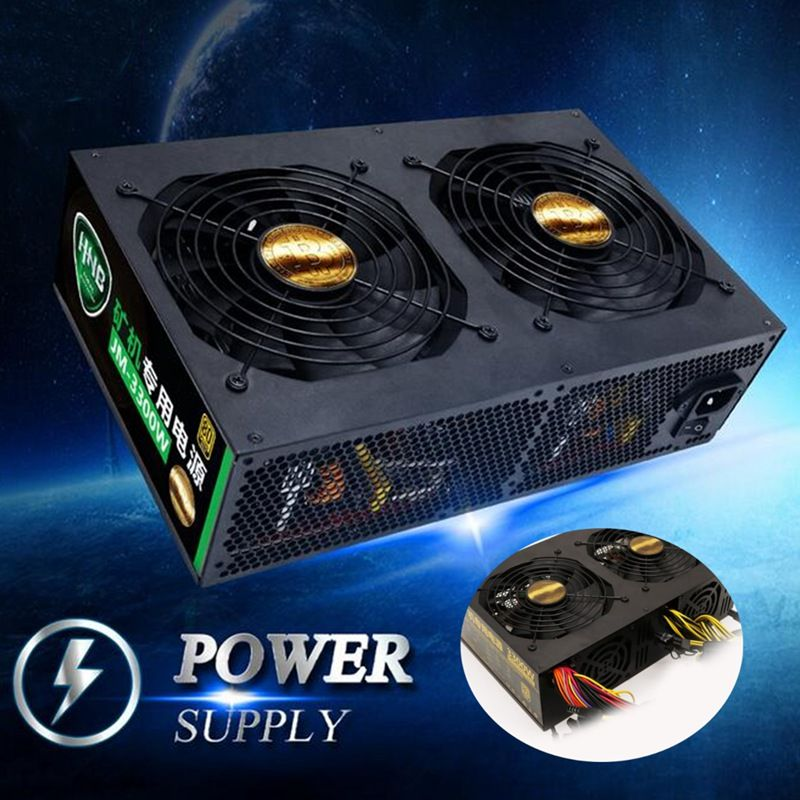 3300W 12 ETH Graphics Dedicated Power Supply Mining Cion For Ethereum Machine High Quality computer power supply For BTC