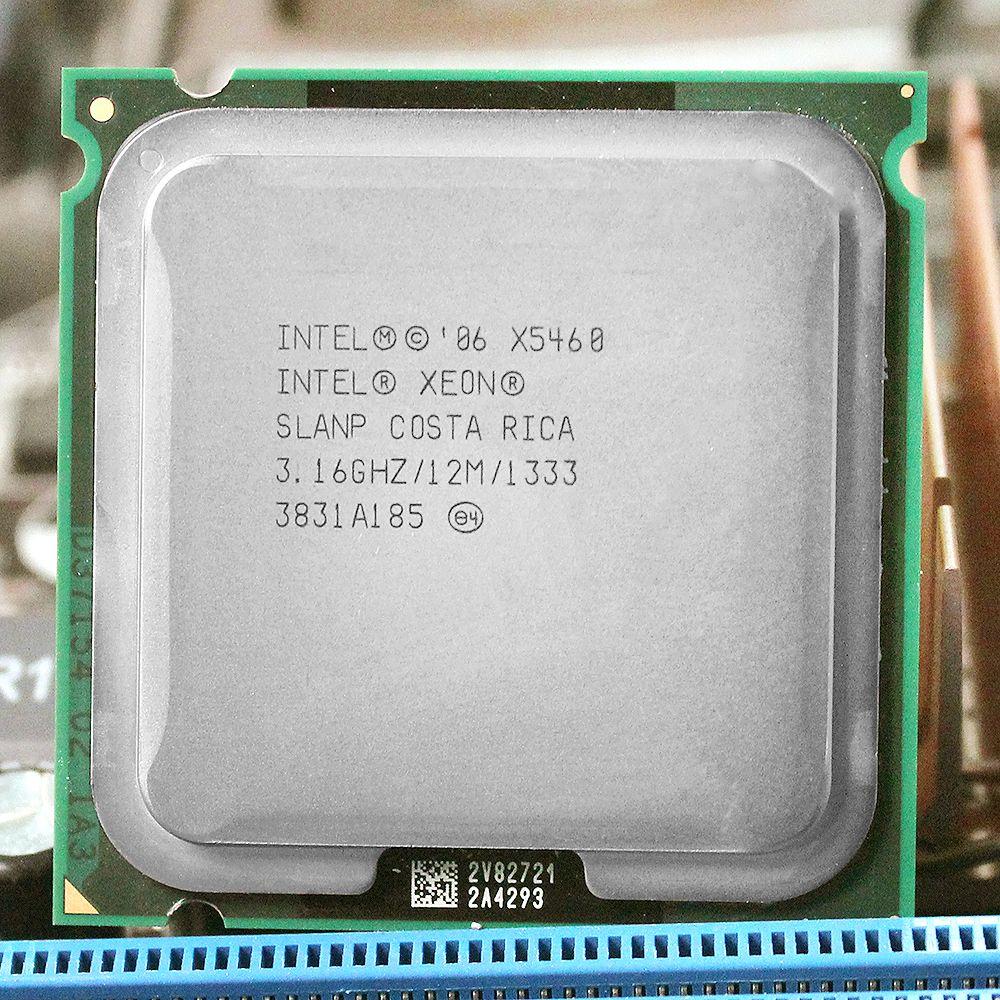 INTEL xeon X5460 LGA 775  Processor (3.16GHz/12MB/1333MHz/LGA771) 771 to 775 CPU work on 775 motherboard warranty 1 year