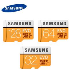 D'origine Samsung Evo + Plus 16/32 GB SDHC GPS Carte Carte Mémoire C10 64 GB SDXC U1 Cartao SD Smartphone Mémoire Flash Carte De Réduction