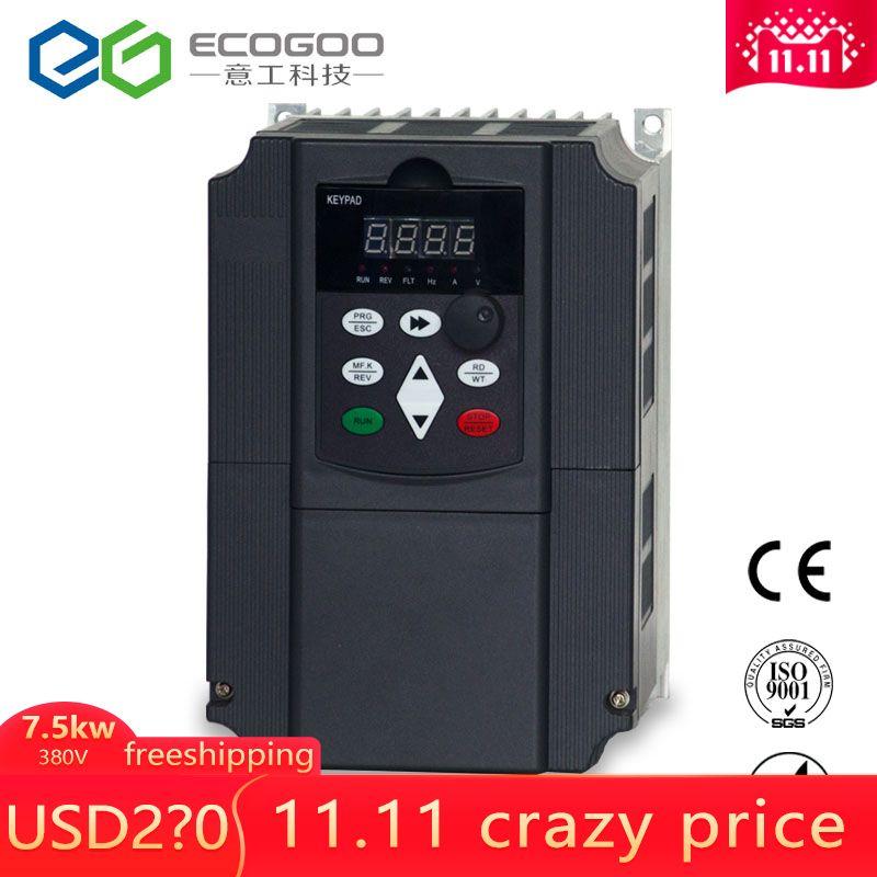 380 v 7.5KW AC Variable Speed Drive/Frequenz Inverter/VFD/ac stick/frequenz konverter