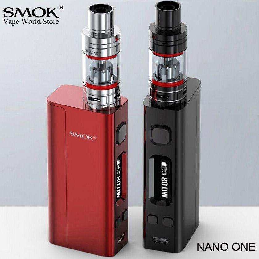 SMOK Nano One Electronic Cigarette Vape R-Steam Mini 80W Box Mod E Hookah VS Eleaf iStick Pico eVic VTC Mini Alien AL85 Kit S009