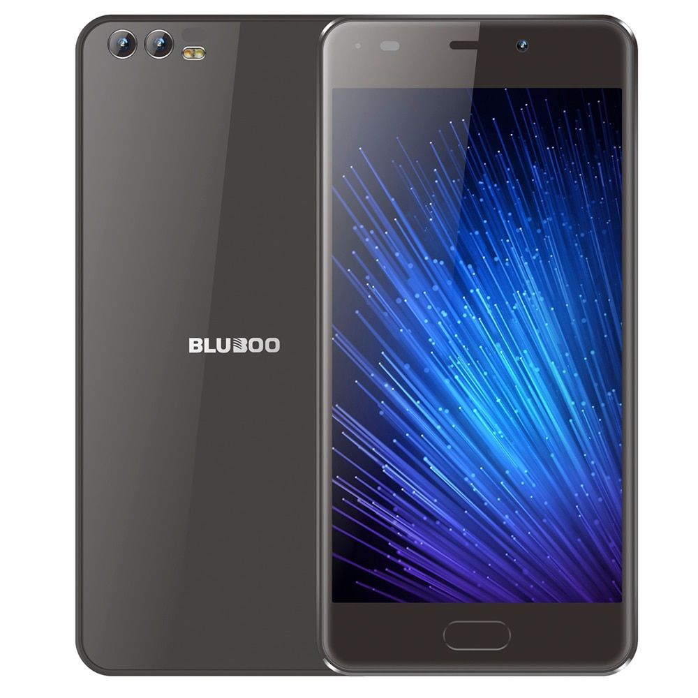 BLUBOO D2 3G Smartphone 1GB RAM 8GB ROM Dual Rear Back Cameras 5.2 inch Android 6.0 Quad Core MTK6580A Mobile phone 720P Unlock