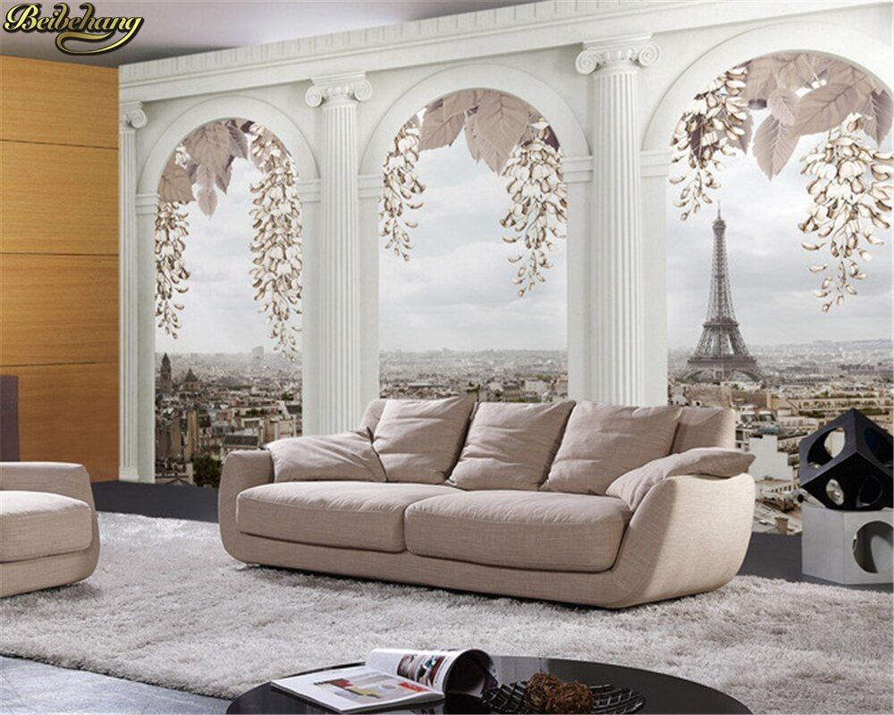 Beibehang photo papier peint panneau Mural parede papier Mural pour salon papier peint fond décoration de la maison papel de parede 3d
