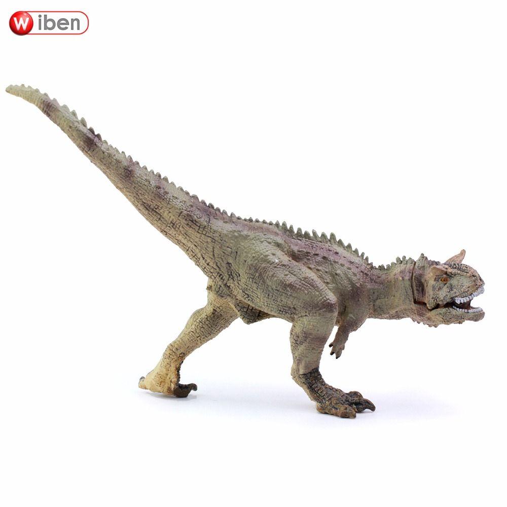 Wiben Jurassic Carnotaurus dinosaure jouets figurine modèle Animal Collection apprentissage et éducation enfants jouet cadeaux