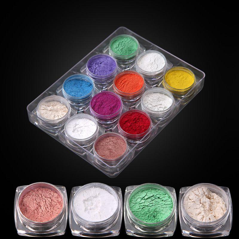 THH001 Haute qualité Ongles Paillettes Brillant Mode Ongles Poudre De Paillettes acrylique poudre