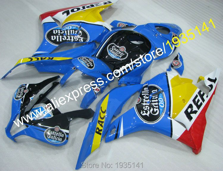 Hot Sales,For Honda CBR600RR F5 2009-2012 Moto Cowling CBR 600 RR 09 10 11 12 Many Decals Sportbike Fairing (Injection molding)