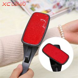 Rotating Magic Lint Dust Brush Pet Hair Remover Clothing Cloth Cleaning Brush Anti-static Lint Fluff Fabric Remover Tools
