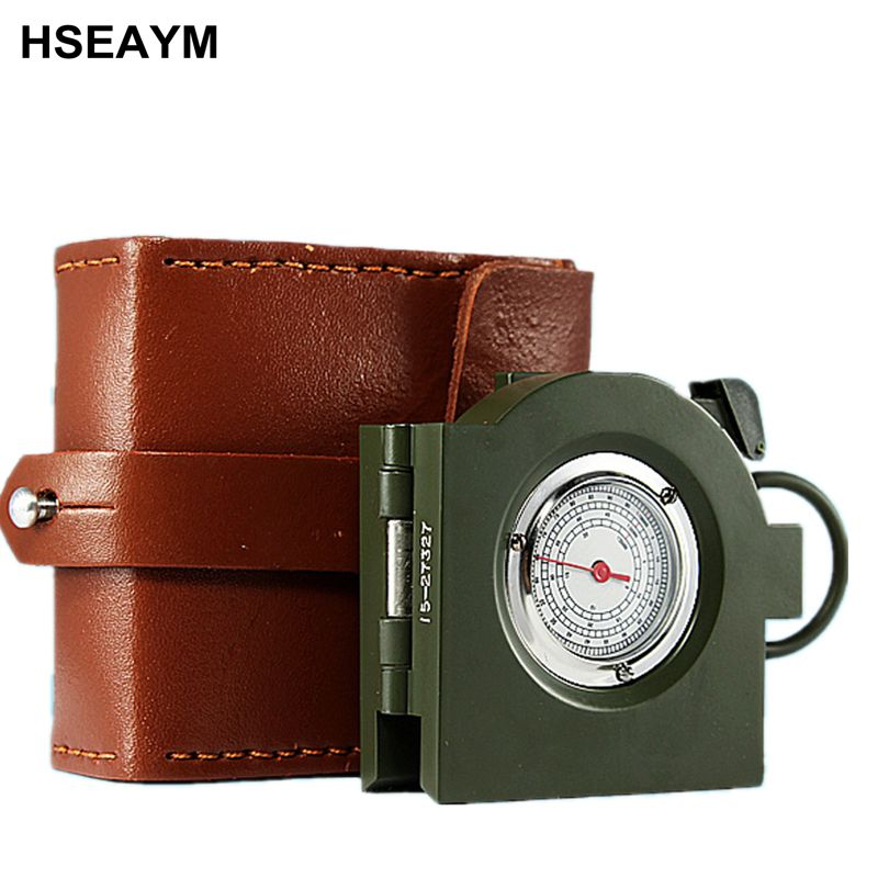 62 Type Compass Multifunctional Portable Outdoor Ranging American Metal High-end Automotive Car Vehicle Compass