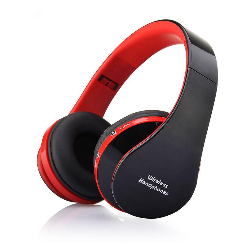 Magift BrandBluetooth Headset Wireless+Wired Headphones Stereo Foldable Sport Earphone Microphone Headset Bluetooth Earphone