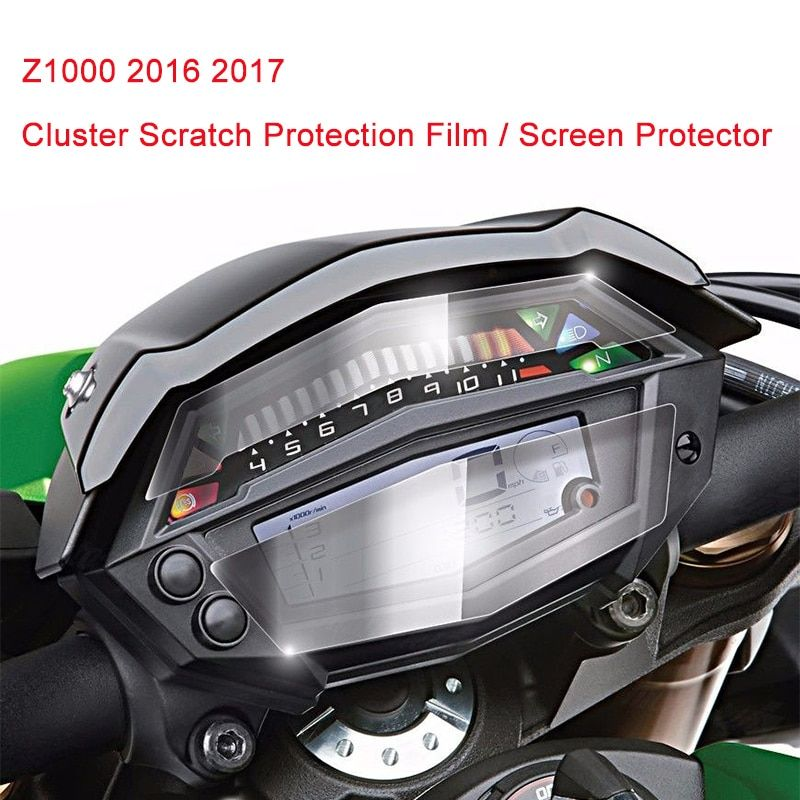 For Kawasaki Z1000 2016 2017 Cluster Scratch Protection Film Screen Protector for for Kawasaki Z1000 2016 2017 100% Brand New