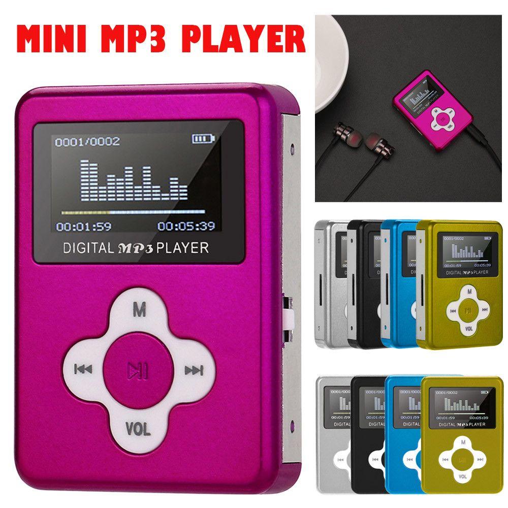2018New Karte walkman mp3 player mini mp3 Stil USB Mini MP3 Player LCD Screen Unterstützung 32 gb Micro SD TF moduledrop shoppingYL-NEUE