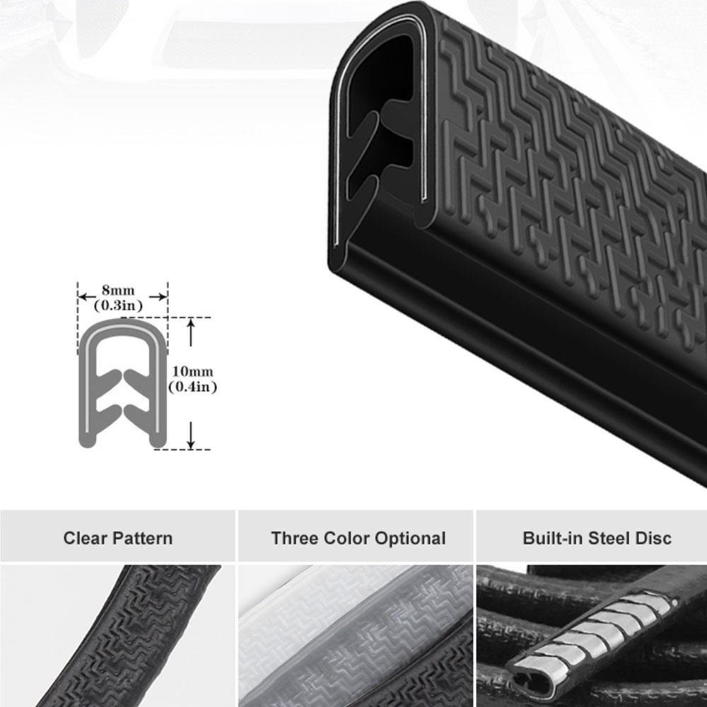 Bande Anti-Collision universelle pour porte de voiture 5M avec disque en acier