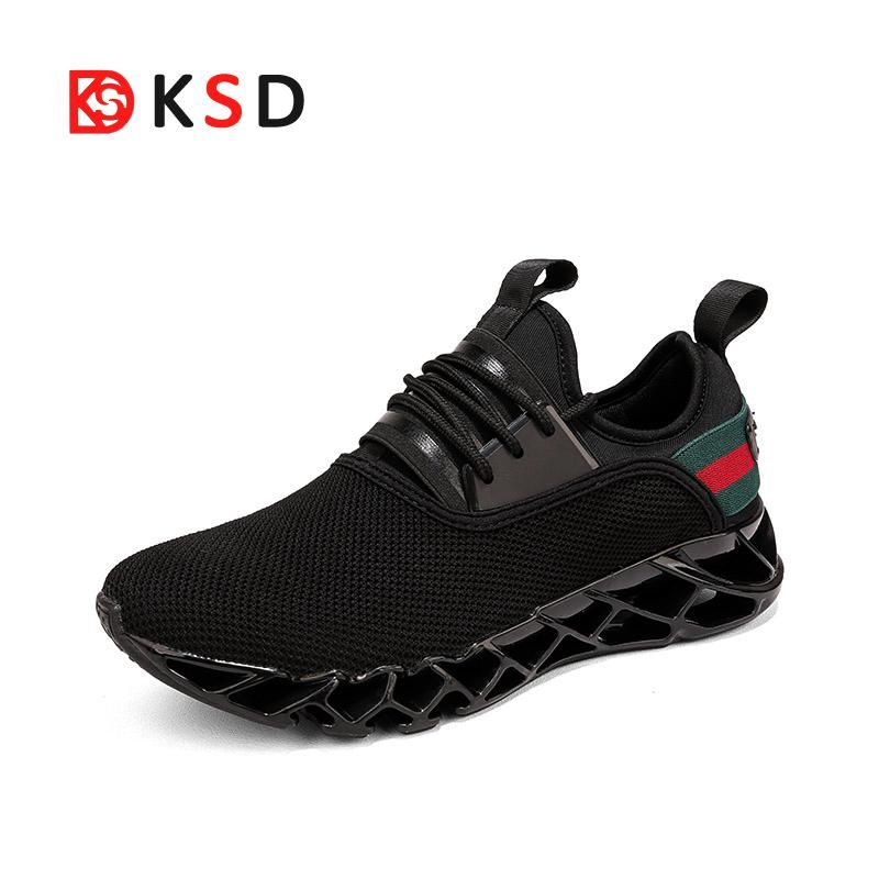 Men Running Shoes Man Sneakers 2018 New Sport Shoes Male Summer Trending Style Blade Shoes Breathable Outdoor Walking Jogging