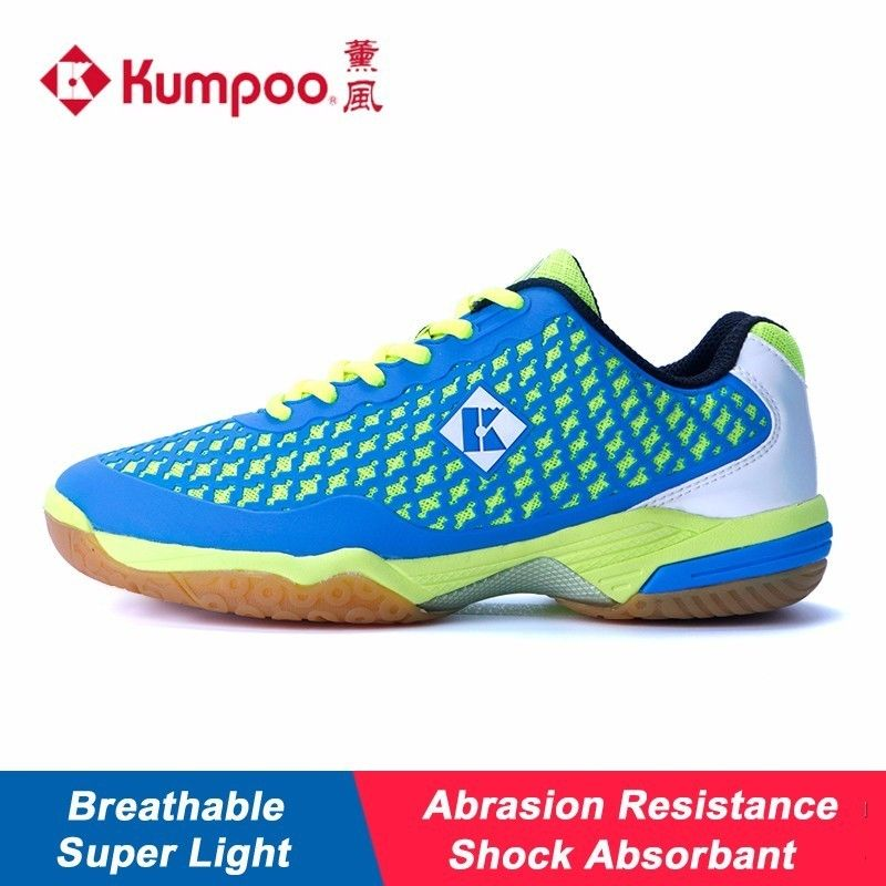 Super Light Kumpoo Badminton Shoes for Men and Women Breathable Cushioning Antiskid Athletic Sports Sneakers KH-280 L793