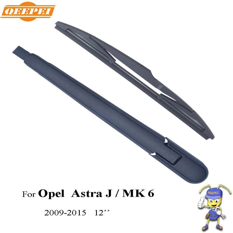 QEEPEI Rear Wiper Blade & Arm For Opel Astra J / MK 6 5-door Tourer 12'' 2009-2015 Car Accessories For Auto Wipers,ROP06-4D