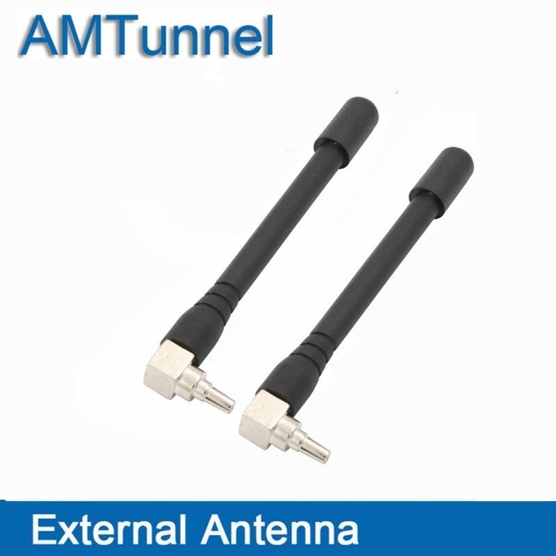 4G WiFi antenna 4G modem antenna with CRC9 router antenna 2pcs/lot for Huawei E3372 EC315 EC8201 PCI Card USB Wireless Router