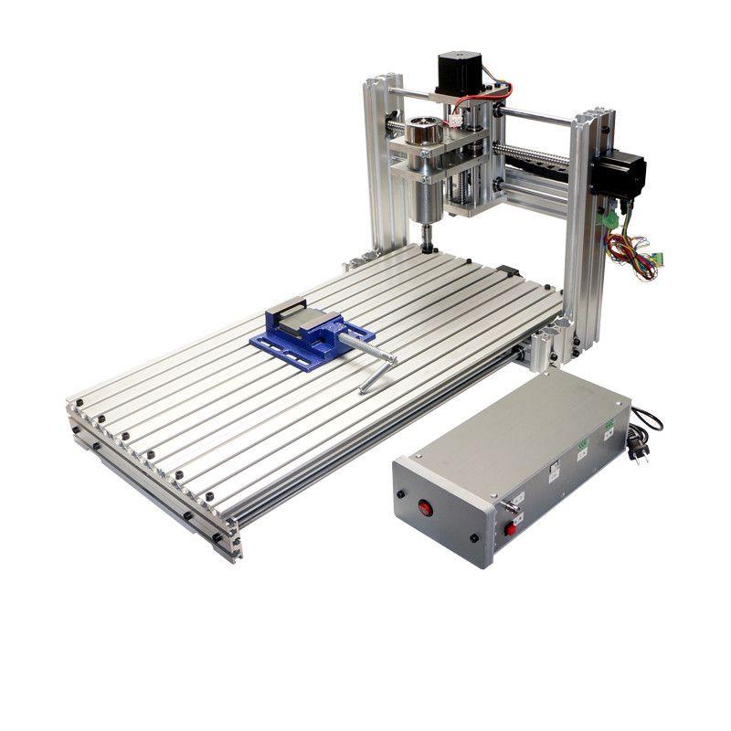 CNC milling machine DIY 6030 3060 Mini CNC router working area 29X57X9cm PCB engraving Machine