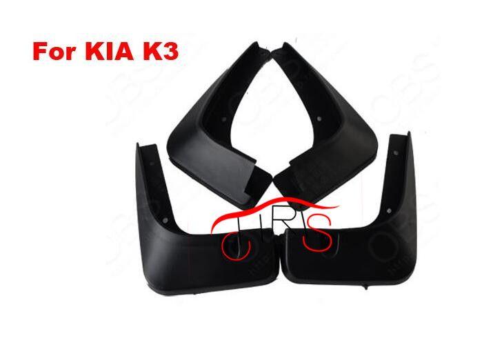 4pcs New Black Mudguards For Kia Forte Cerato K3 2013-2014 Splash Guards