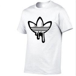 100% algodón que cava la luna impresión casual Hombre o-cuello camisetas tops de los hombres de la manera hombres manga corta Camiseta hombres camiseta 2018