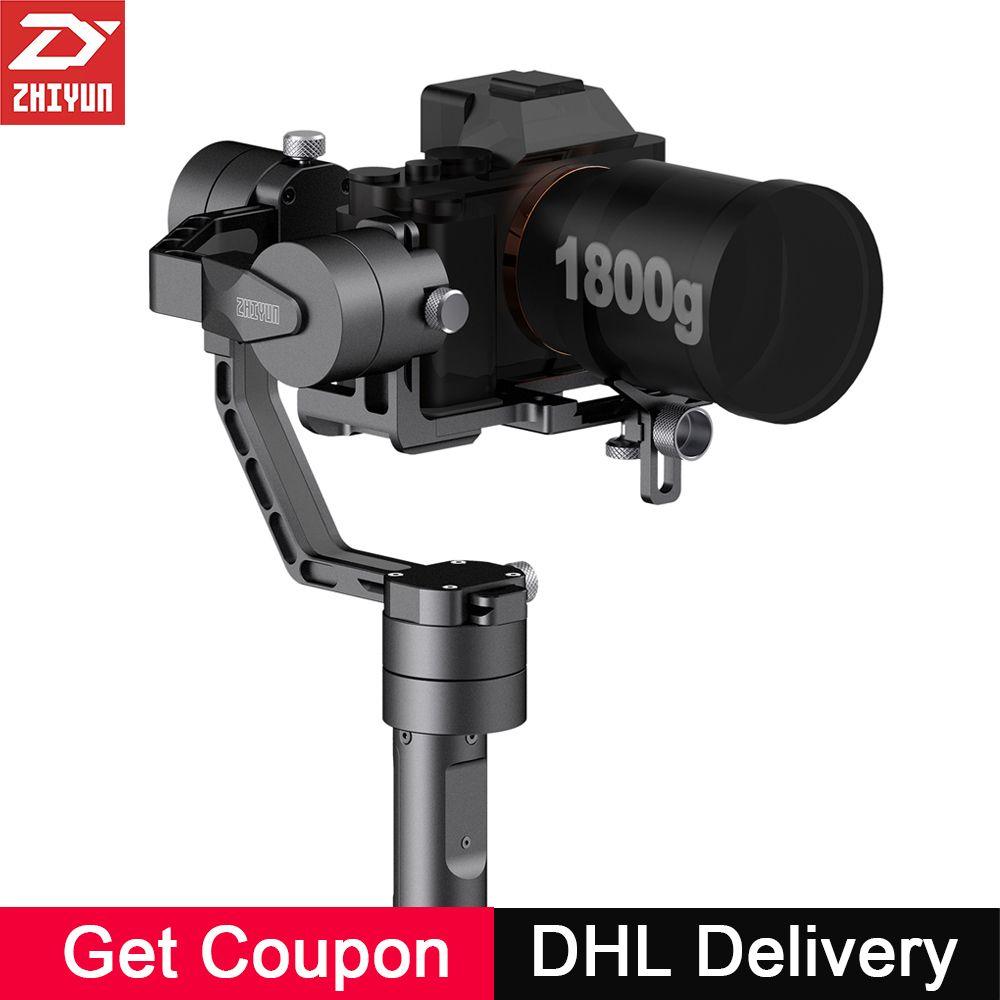 Zhiyun Kran V2 3-achsen Handheld Kamera Gimbal 3 Achsen Video Stabilizer 3 32Bit Bürstenlose Motoren für Canon Nikon Mirrorless Kamera