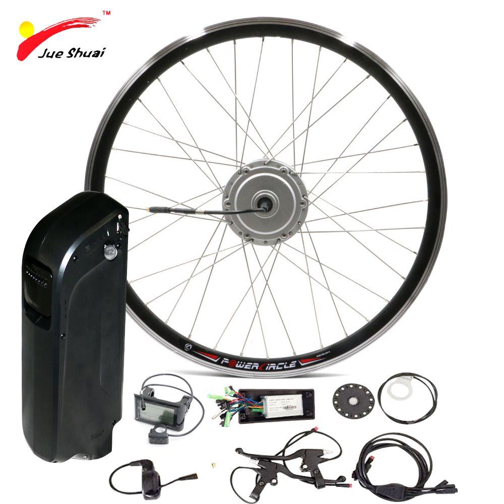 Ebike Batterie 48 v 250 watt 350 watt 500 watt Elektrische Fahrrad Kit mit SAMAUNG Wasserkocher Batterie Vorne 26