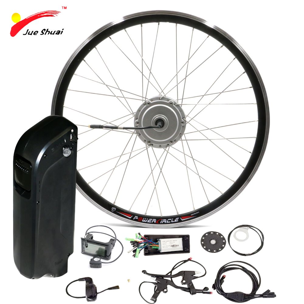 Ebike Battery 48V 250W 350W 500W Electric Bicycle Kit with SAMAUNG Kettle Battery Front 26