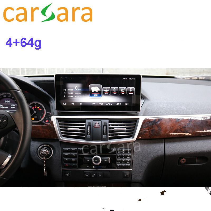 Mercedes Display für Ben z E Klasse W212 2010 2011 2012 rechtslenker Stereo Verfügbar 4G RAM 64G ROM