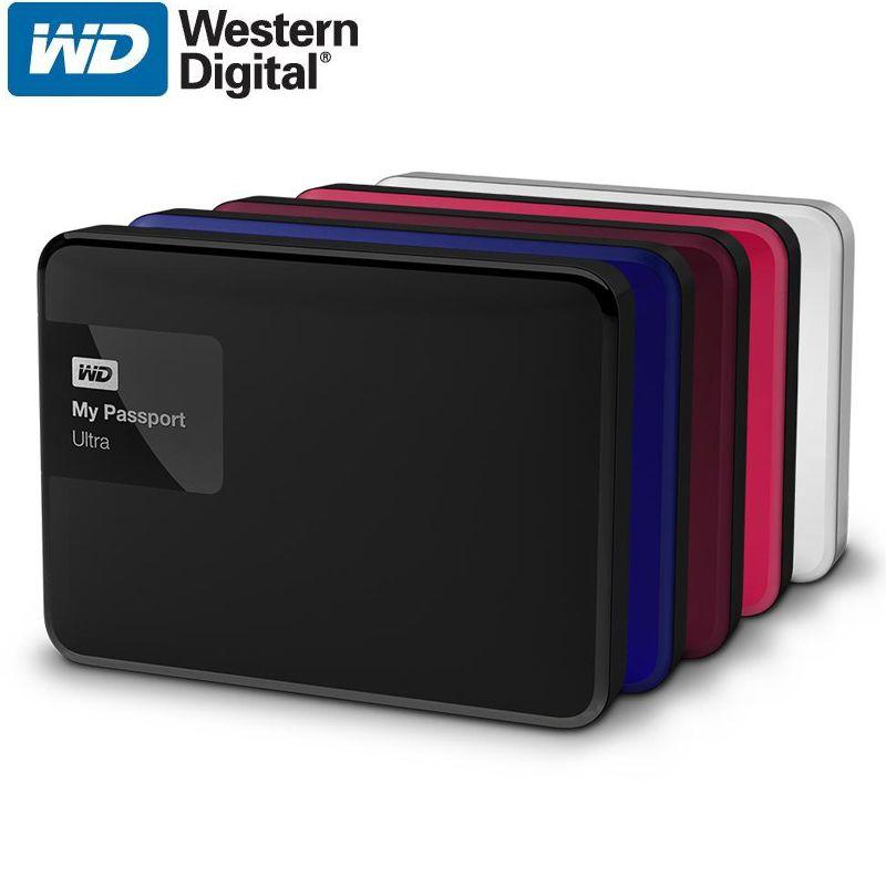 WD My Passport Ultra 2 TB Disque Dur Externe Disque Portable HDD HD Disque Dur 2.5