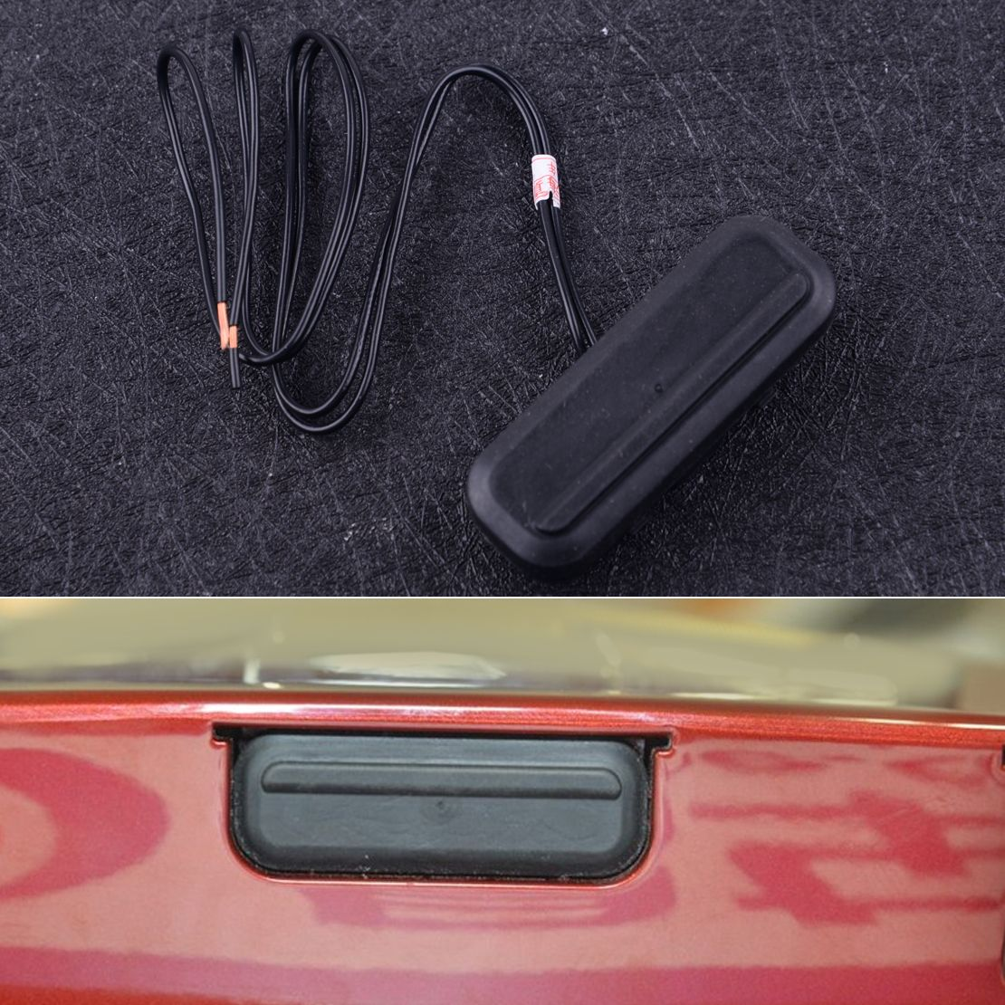 DWCX Rear Tailgate Opening Switch Trunk Release Liftgate Latch Push Button 13393912 9012141 fit for Chevrolet Cruze 2009-2014