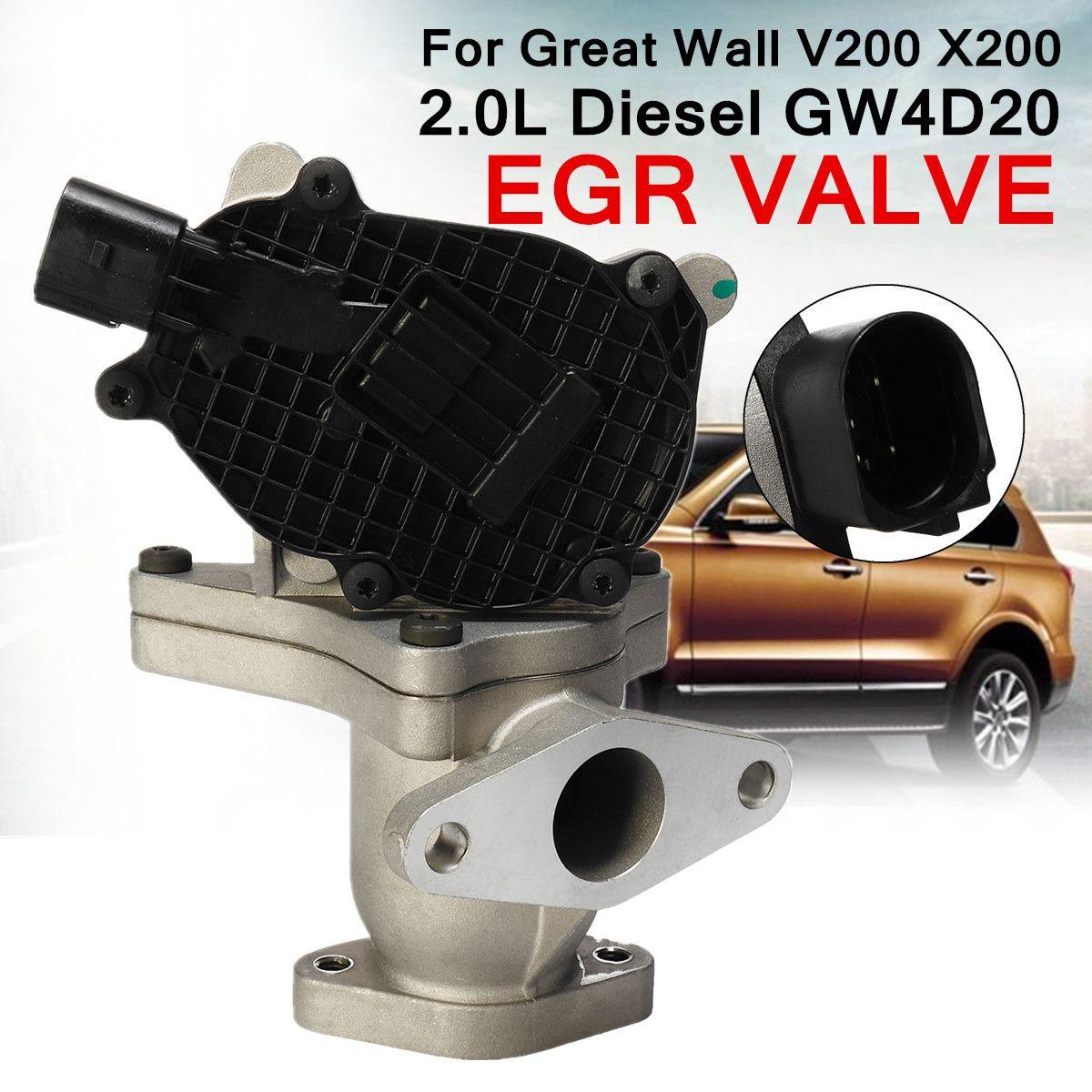EGR Exhaust Gas Valve for Great Wall 1207100-ED01A V200 X200 2.0L for Diesel GW4D20 Recirculation Valve Reduce Temperature NOx