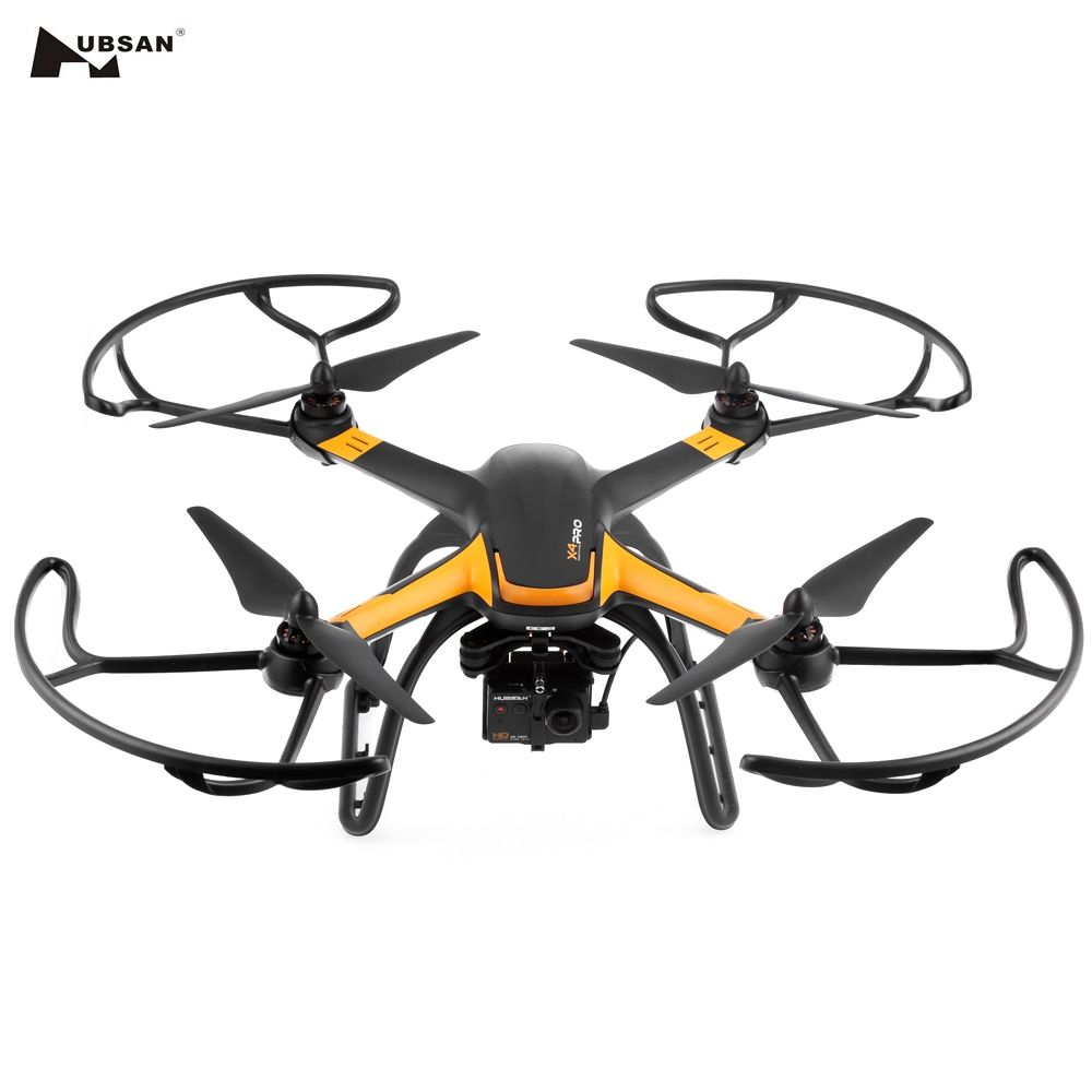 Original Helicopter Hubsan H109S X4 PRO 5.8G FPV 1080P HD Camera GPS 7CH RC Quadcopter with 1-axis Brushless Gimbal