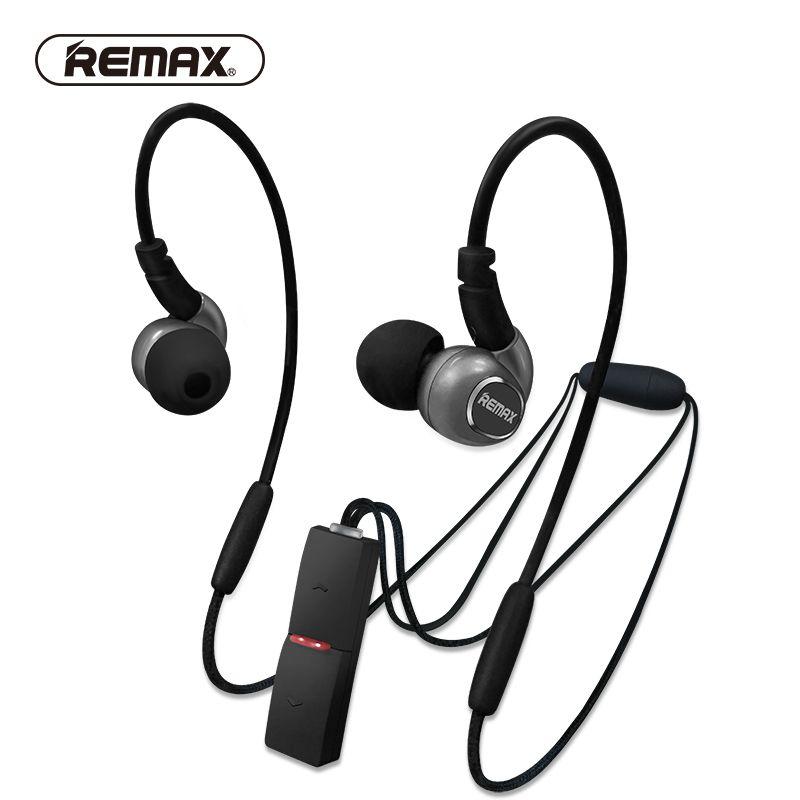 REMAX Neckband Apt-x Sport Bluetooth 4.1 Technologie Écouteurs Aimant Stéréo Basse Lourde de Course Casque Pendentif avec Mic pour iphone