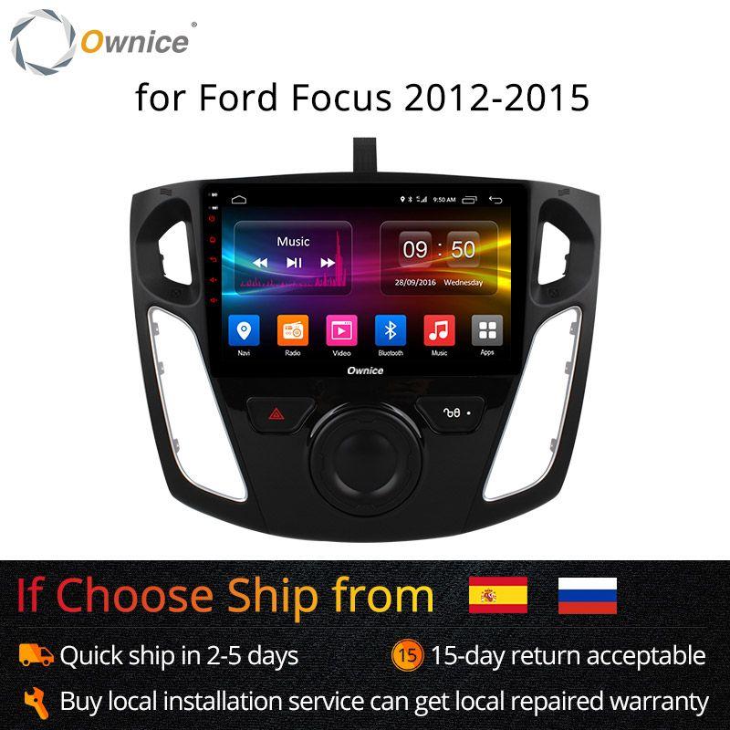 Ownice K1 K2 Octa 8 Core Android 8.1 Auto-Radio-Player GPS Navi für Ford Focus 3 2012 2013 2014 2015 unterstützung DVD 4G SIM Karte
