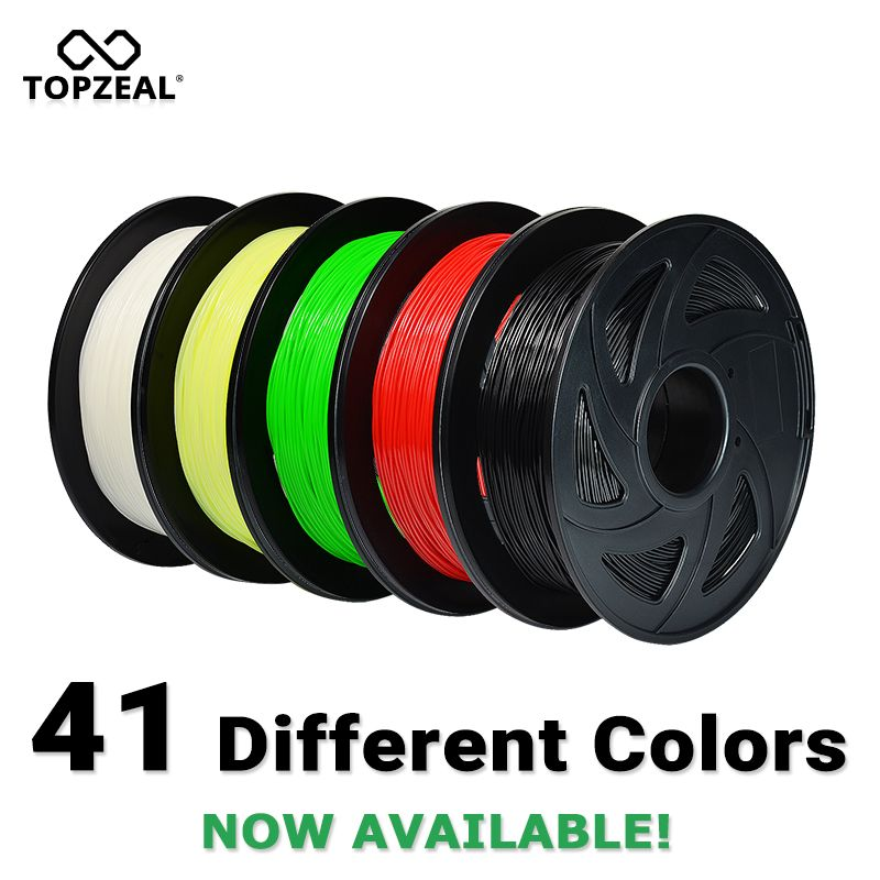 3D Printer PLA Filament 1.75mm Filament Dimensional Accuracy+/-0.02mm 1KG 343M 2.2LBS 3D Printing Material for RepRap