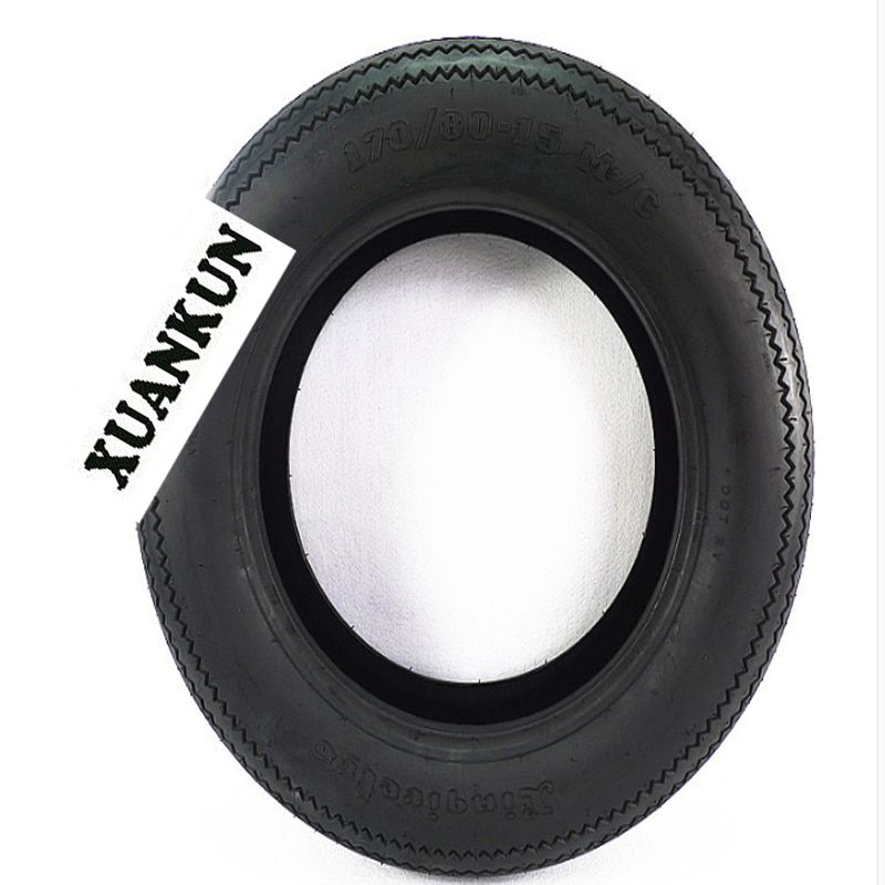XUANKUN Motorcycle Parts Tires Sawtooth Tires 170/80-15